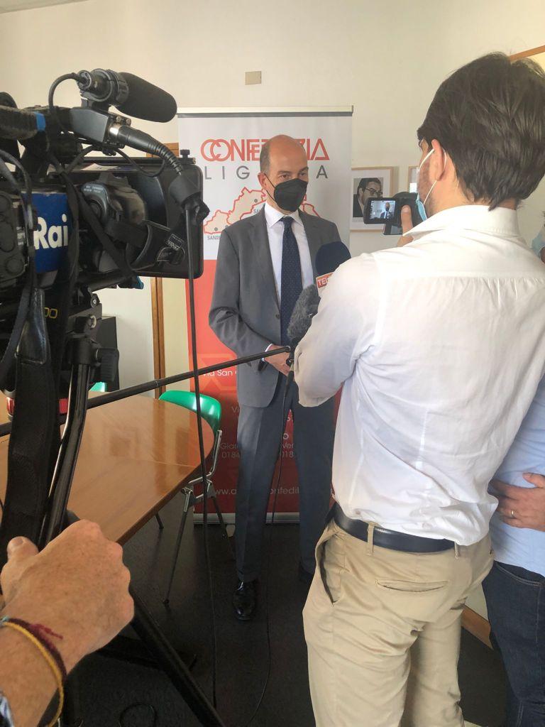 conferenza stampa Spaziani Testa Nasini Confedilizia APE 1